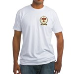 ASSELIN Family Crest Fitted T-Shirt