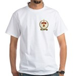 ASSELIN Family Crest White T-Shirt