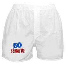 50 is 5 perfect 10s Boxer Shorts