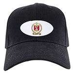 AUCLAIR Family Crest Black Cap
