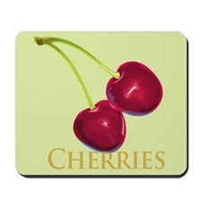 Cherries with Stems Mousepad