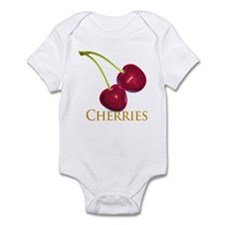 Cherries with Stems Infant Bodysuit