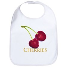Cherries with Stems Bib