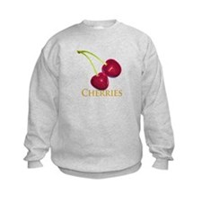 Cherries with Stems Sweatshirt