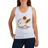 Reader - Golden Quote Women's Tank Top