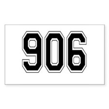906 Rectangle Sticker 50 pk)