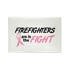 Firefighters In The Fight Rectangle Magnet (100 pa
