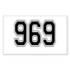 969 Rectangle Decal