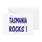 Tasmania Rocks ! Greeting Cards (Pk of 10)
