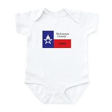 MCLENNAN-COUNTY Infant Bodysuit