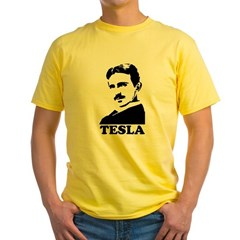 Tesla Yellow T-Shirt