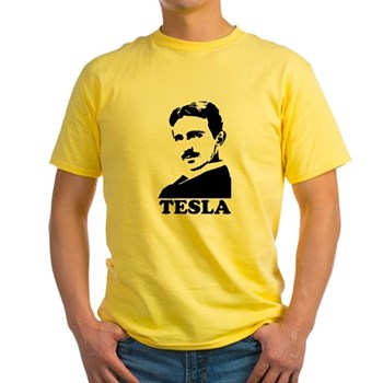 Tesla Yellow T-Shirt | Gifts For A Geek | Geek T-Shirts