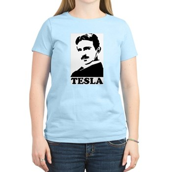 Tesla Women's Light T-Shirt | Gifts For A Geek | Geek T-Shirts