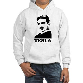 Tesla Hooded Sweatshirt | Gifts For A Geek | Geek T-Shirts