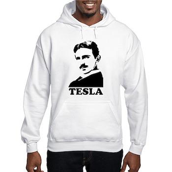 Tesla Hooded Sweatshirt | Gifts For A Geek | Geek T-Shirts