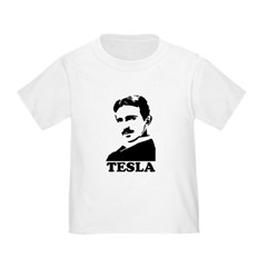 Tesla Toddler T-Shirt