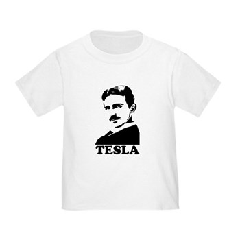 Tesla Toddler T-Shirt | Gifts For A Geek | Geek T-Shirts
