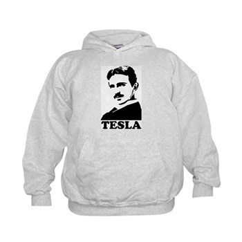 Tesla Kids Hoodie | Gifts For A Geek | Geek T-Shirts