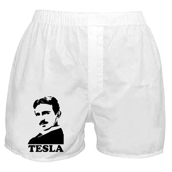 Tesla Boxer Shorts | Gifts For A Geek | Geek T-Shirts