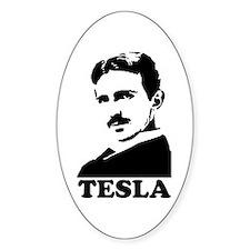 Tesla Oval Decal