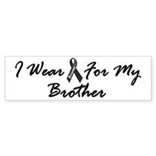 I Wear Black For My Brother 1 Bumper Sticker