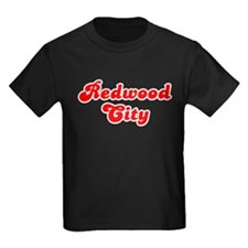 Retro Redwood City (Red) T