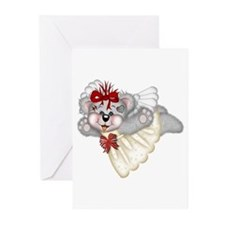 LITTLE ANGEL 4 Greeting Cards (Pk of 10)