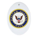 United States Navy Emblem Keepsake (Oval)