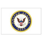 United States Navy Emblem Large Poster