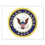 United States Navy Emblem Small Poster
