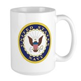 United States Navy Emblem Coffee Mug