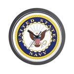 United States Navy Emblem Wall Clock