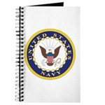 United States Navy Emblem Journal