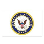 United States Navy Emblem Postcards (Package of 8)