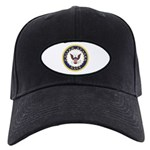 United States Navy Emblem Black Cap
