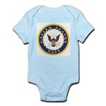 United States Navy Emblem Infant Creeper