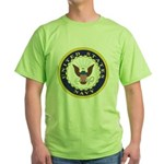 United States Navy Emblem Green T-Shirt