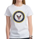 United States Navy Emblem Women's T-Shirt
