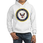 United States Navy Emblem Hooded Sweatshirt