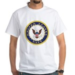 United States Navy Emblem White T-Shirt