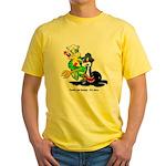 US Navy Freddy & Sammy Yellow T-Shirt