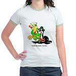 US Navy Freddy & Sammy (Front) Jr. Ringer T-Shirt