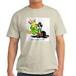 US Navy Freddy & Sammy (Front) Ash Grey T-Shirt