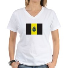 PITTSBURGH Womens V-Neck T-Shirt