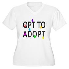 OPT TO ADOPT A CAT T-Shirt