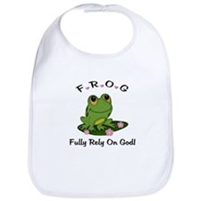 FROG Fully Rely On God Bib