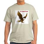 U.S. Armed Forced Eagle Ash Grey T-Shirt