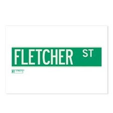 Fletcher Street in NY Postcards (Package of 8)