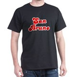 Retro San Bruno (Red) T-Shirt