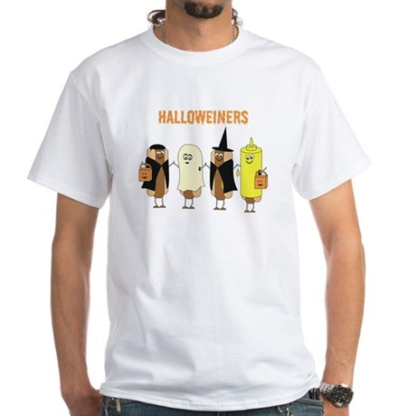 Halloweiners White T-Shirt